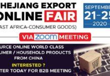 Zhejiang Export Online Fair (East Africa-Consumer Goods)