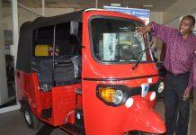 Piaggio three wheeler (tuk tuk) Destin Africa
