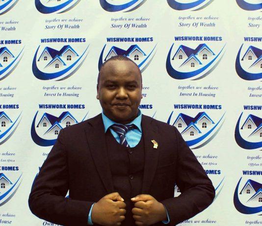 Stephen Kihonge, MD, Wishwork Homes. Destin Africa